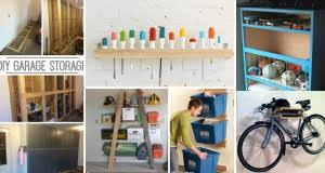 diy garage storage. Plain Diy 35 DIY Garage Storage Ideas To Help You Reinvent Your On A Budget U2013  Cute Projects And Diy