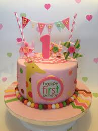 1st Birthday Cake Fomanda Gasa