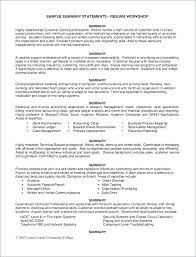 resume with profile statement sample resume profile statements mmventures co