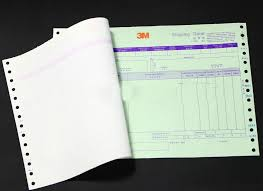 Invoice Papers Custom Carbonless Printed Paper Receipt Invoice Books Print