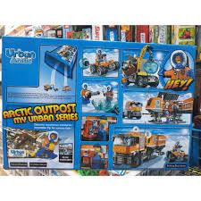 Bộ đồ chơi lego City Urban 10440- Thám hiểm cực bắc 394 khối tại Hà Nội