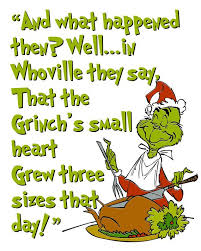 the grinch quotes heart. Contemporary Quotes The Grinch Heart Grew Three Sizes 35 Best Christmas Images On Pinterest For Quotes