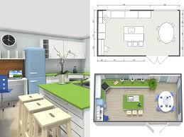 kitchen design and floor plans created using roomsketcher home designer