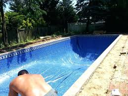 homemade inground pool fascinating decor pool for your dream design image of average cost swimming trends