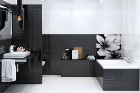 Black And White Bathrooms Black White And Grey Bathroom Interesting Black And White
