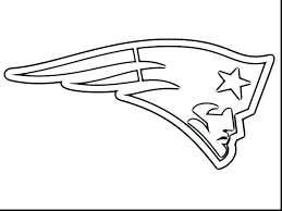 Denver Broncos Logo Coloring Pages Broncos Coloring Pages With