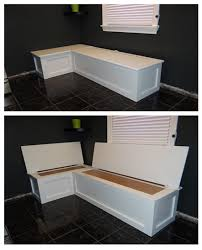banquette furniture with storage. kitchen banquette table seating with storage diy project the homestead survival homesteading furniture n