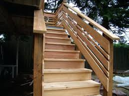 exterior stair railing ideas best outdoor on deck i think found the want  for my then