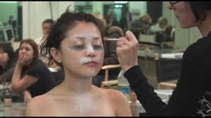 airbrushing cl at cinema makeup