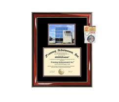 Strayer University Campus Strayer University Diploma Frame Campus Degree Certificate Framing Gift Graduation Frames Photo Document Plaque Certification Graduate