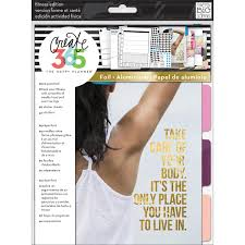 Create 365 Happy Planner Extension Pack Fitness