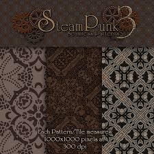 Steampunk Patterns Interesting Merchant Resource Steampunk Patterns 48 48D Graphics Merchant