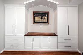 White Kitchen Dresser Unit Custom Built Wall Units Custom Made Built In Tv Wall Units