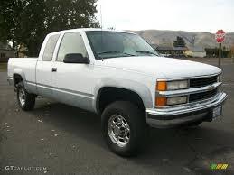 Olympic White 1997 Chevrolet C/K 2500 K2500 Extended Cab 4x4 ...