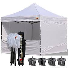 abccanopy deluxe 10x10 ez pop up canopy