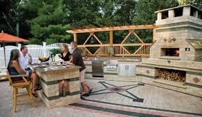 Entertaining Outdoors Unilock - Outdoor kitchen omaha