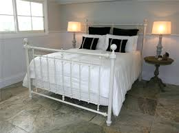 white metal furniture. 19 Inspiration Gallery From White Metal Bed Frame Ideas Furniture