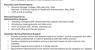 Resume Personal References Resume For Administrative Assistant