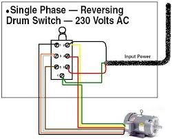 wiring diagram dayton reversing drum switch wiring diagram how to wire a single phase motor forward and reverse at Baldor Drum Switch Wiring Diagram