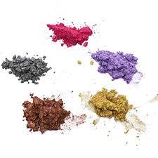 Healifty <b>5pcs Slime diy</b> mica powder cosmetic grade powder for ...