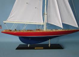 wooden american eagle limited model sailboat decoration 35