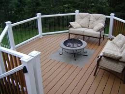The Importance Of Fire Pit Mat For Wood Deck Ideas Deck Ideas With