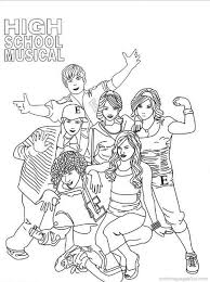 Small Picture High School Musical Coloring Pages To Print Image Gallery HCPR