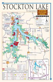 Stockton Lake Fishing Map Global Map