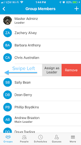 Groups In The Lead Church App