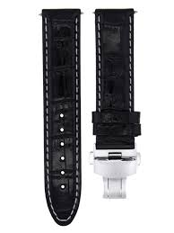 details about 22mm leather watch strap band for citizen eco drive bm8475 26e b820 black ws 7
