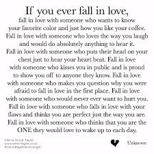 Signs Of Falling In Love Quotes