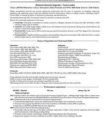 Security Engineer Resume Sample