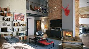 Attractive Loft Apartment With An Interior Design Made By Pavel Vetrov Gorgeous Loft Apartment Interior Design