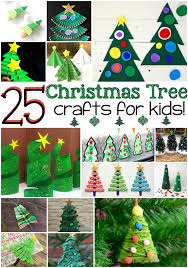 Image Diy Play Ideas 25 Christmas Tree Crafts For Kids