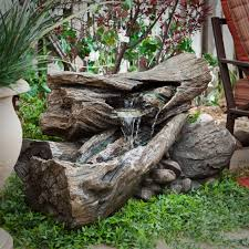 outrageous rock water fountain outdoor elegant outdoor rock fountains waterfalls better way for nature