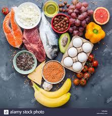 Healthy And Balanced Diet Chart Balanced Diet Chart Stock Photos Balanced Diet Chart Stock