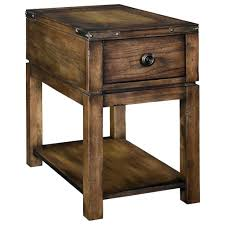 cool dark wood side tables 17 round rustic brown wooden table with shelf and curve