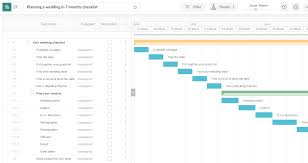 Planning A Wedding In 7 Months Checklist Excel Template