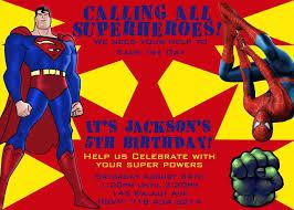 Personalized Superhero Birthday Invitations Free Printable Personalized Spiderman Invitations Superhero Birthday