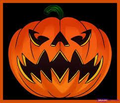 Jack O Lantern How To Draw A Jack O Lantern Step By Step Halloween Seasonal
