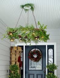 gvine wreath chandelier