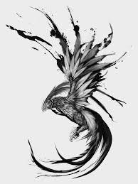 Rising Phoenix On Behance Tattoos Phoenix Tattoo Design