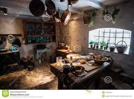 Old Kitchen Old Vintage Kitchen Stock Photo Image 52585564