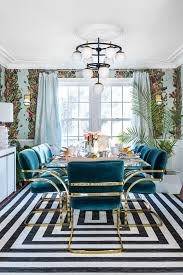these art deco dining room ideas are
