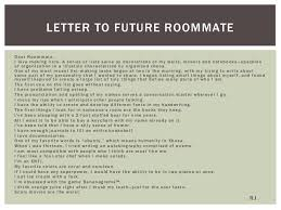 communicating their stories strategies for helping students write po essay activities prompt rc 12 letter to future roommatedear roommate