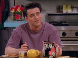 Joey Tribbiani Mcm Friends Season 1 Joey Friends Friends Season