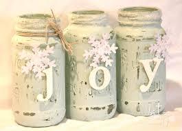 Mason Jar Holiday Decorations Bitz of Me Painted Snowy Mason Jars DIY Pinterest Jar 36