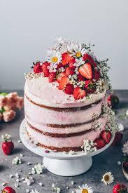 Strawberry Cream Naked Cake Recipe Bianca Zapatka Foodblog
