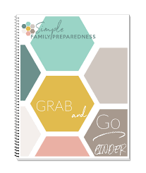 Simply Prepared Grab And Go Binder Your Own Home Store