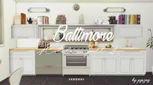 Pyszny Design Sims 4 Baltimore Kitchen Part Ii By Pyszny Design Liquid Sims